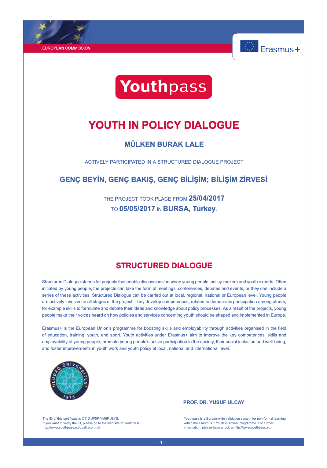 Youthpass - 2017